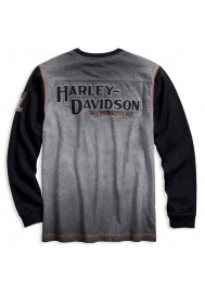 Harley Davidson Homme Iron Block Manches Longues Pullover 99008-17VM