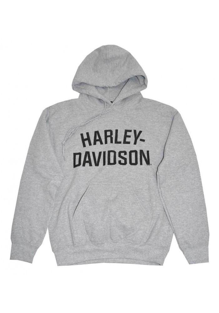 Harley Davidson Homme Pullover Sweatshirt à Capuche, H-D Gris 30296641
