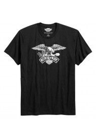 Harley Davidson Homme Renew The Ride T-Shirt Manches Courtes, Noir 96799-16VM