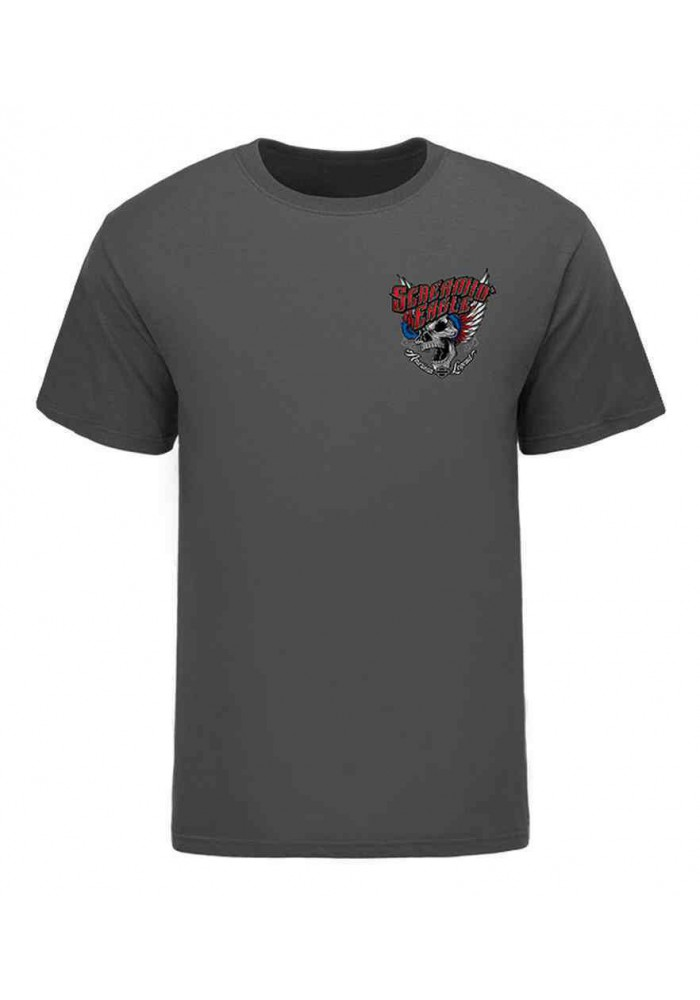 Harley Davidson Homme Eagle American Wings T-Shirt, Gris HARLMT0238