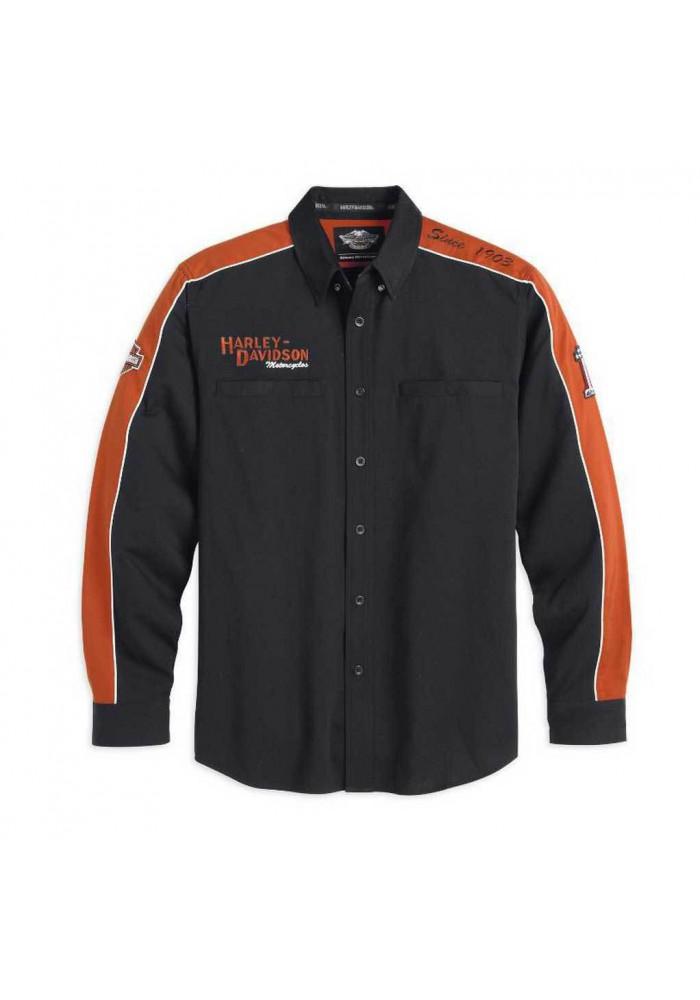 Harley Davidson Homme Prestige Chemise Manches Longues 99073-13VM