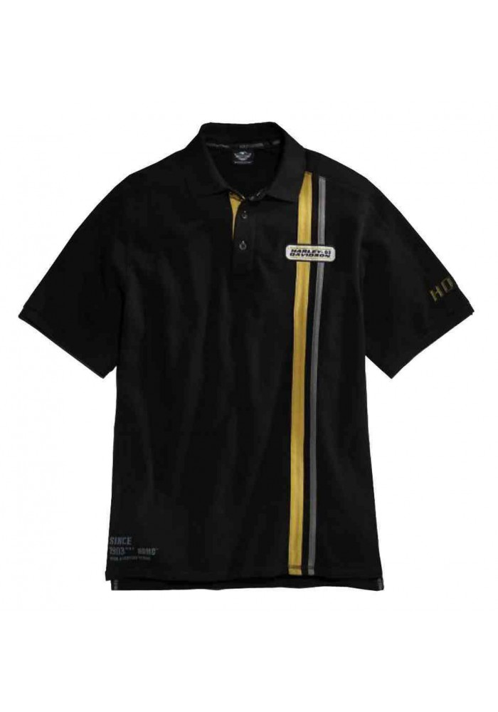 Harley Davidson Homme Century Strong Manches Courtes Polo 96452-15VM