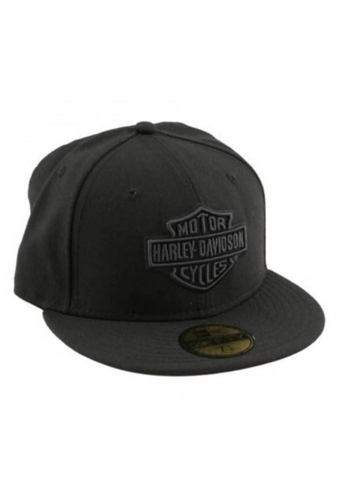 Harley Davidson Homme Tonal Bar & Shield Logo 59FIFTY Casquette de Baseball 99514-12VM