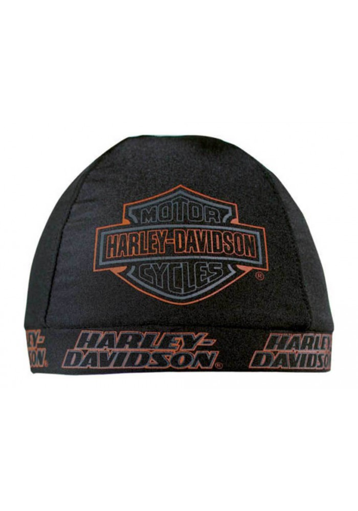 Harley Davidson Homme Strong H-D Skull Casquette Noir bandana Bar & Shield Logo SK98630