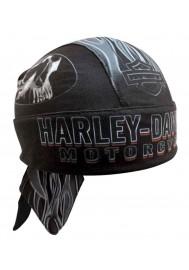 Harley Davidson Homme Engulfed Flaming Skull bandana Moisture Wicking HW15290