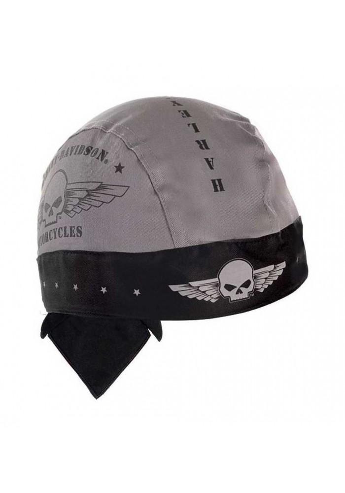 Harley Davidson Homme bandana Skull Military Wings Moisture Wicking HW04475