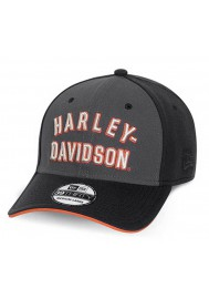 Harley Davidson Homme Font 39Thirty Casquette de Baseball Noir. 99400-15VM