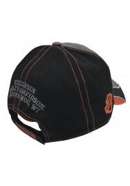 Harley Davidson Homme 3 Tone ed Casquette de Baseball Noir/Gris BCC51675