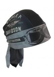 Harley Davidson Homme bandana Aviator Moisture Wicking Noir HW07875
