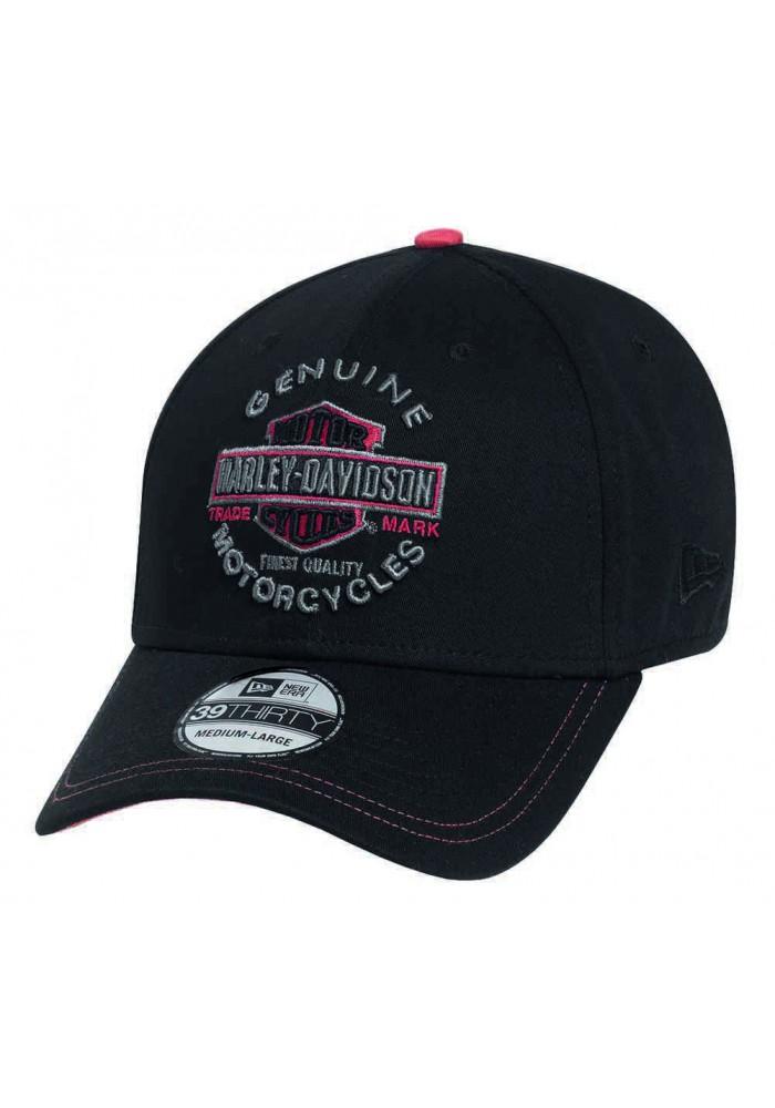Harley Davidson Homme Trademark 39THIRTY Casquette Noir. 99424-16VM