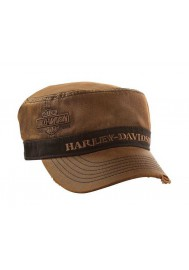 Harley Davidson Homme  Painter's Casquette Bar & Shield Marron Stone Washed PC31339