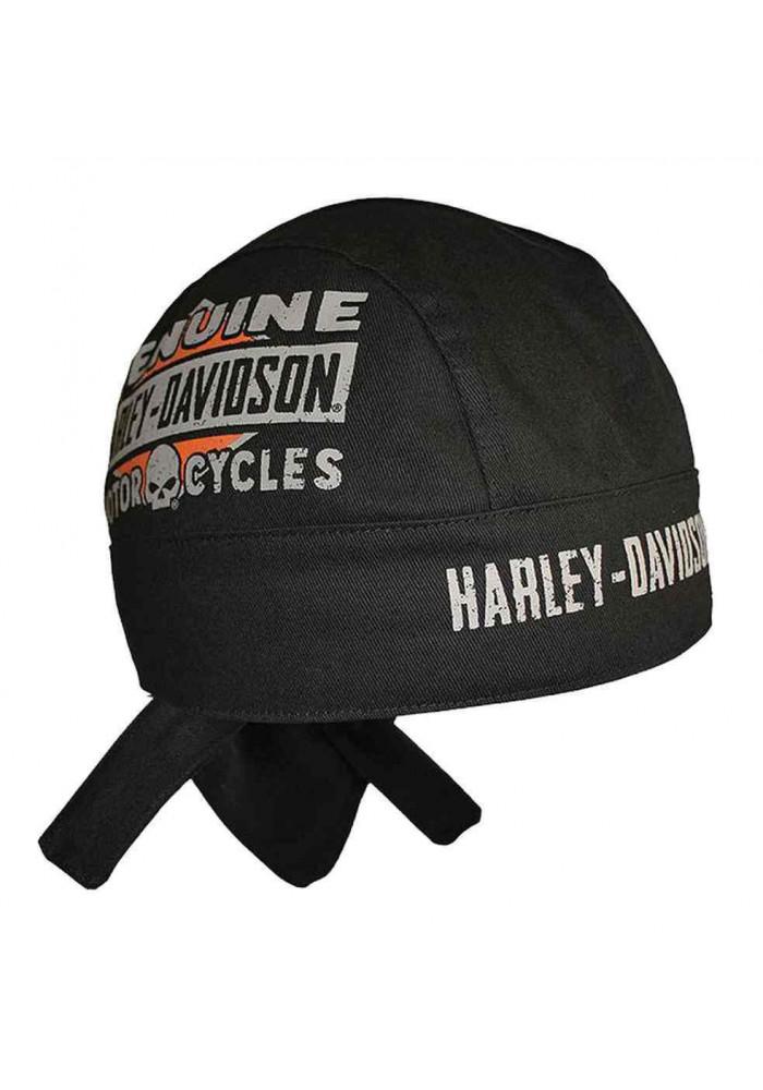 Harley Davidson Homme Skull bandana Sweatband HW18030