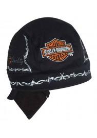 Harley Davidson Homme Barb Wire Bandanna Noir H520330