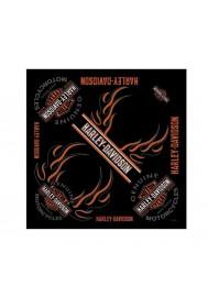 Harley Davidson Homme Bandana Long Bar & Shield Bandanna Noir BA31266