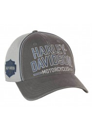Harley Davidson Homme Casquette de Baseball Bar & Shield Stretch Fit BC51670