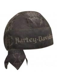 Harley Davidson Homme Moisture Wicking bandana Spider Design Noir HW13630