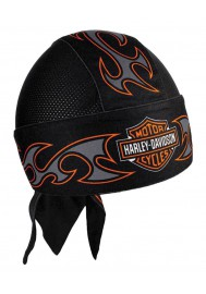 Harley Davidson Homme Tribal Bar & Shield Air Flow bandana Noir HW18930