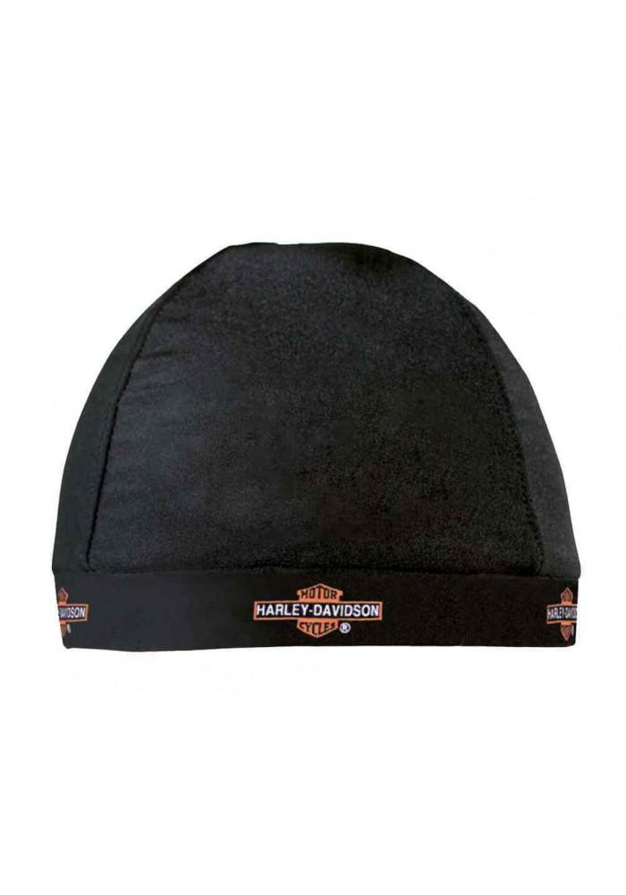 Harley Davidson Homme Skull Casquette Long Bar & Shield Logo Noir HC31230