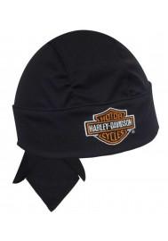 Harley Davidson Homme Bar & Shield  bandana Noir HW10830