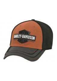 Harley Davidson Homme 39THIRTY ed Casquette de Baseball Noir 97653-16VM