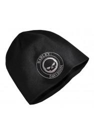 Harley Davidson Homme Skull Patch Bonnet Noir 97636-16VM