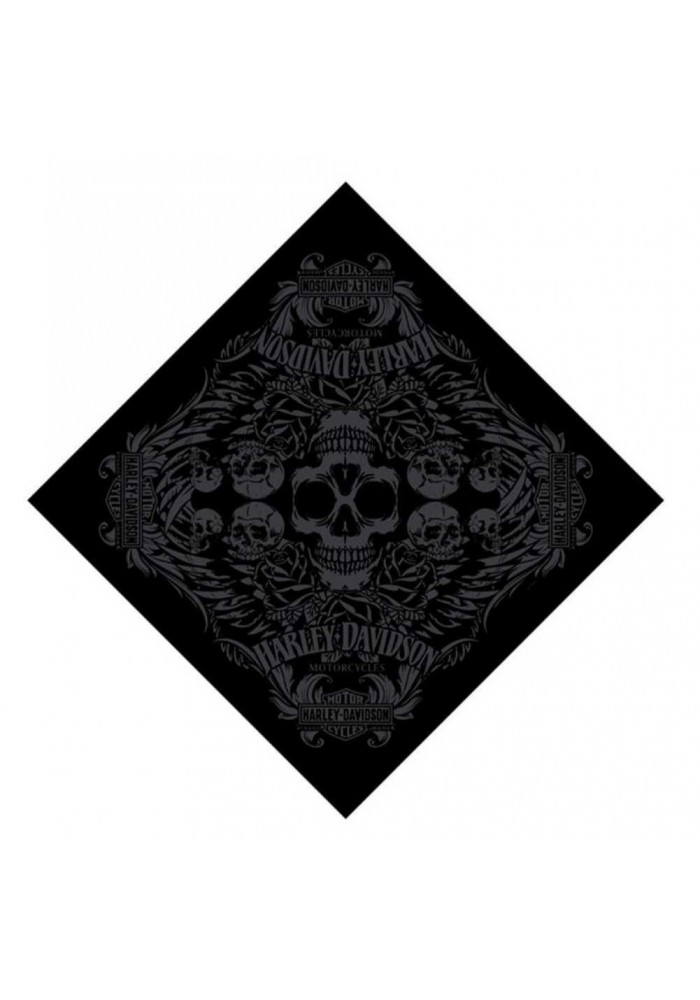 Harley Davidson Homme H-D Edge Bandana Noir BA00230