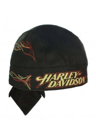 Harley Davidson Homme Tanked H-D bandana Noir HW00330