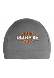 Harley Davidson Homme Elongated Bar & Shield Logo Skull Casquette Gris SK31254