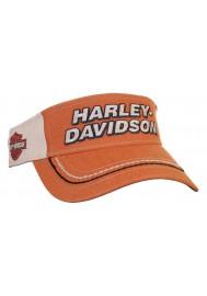 Harley Davidson Homme H-D Script BS Visière Burnt Orange VIS51638