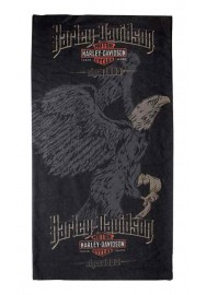 Harley Davidson Homme High Flyer Eagle Bandana  Noir MHW17630