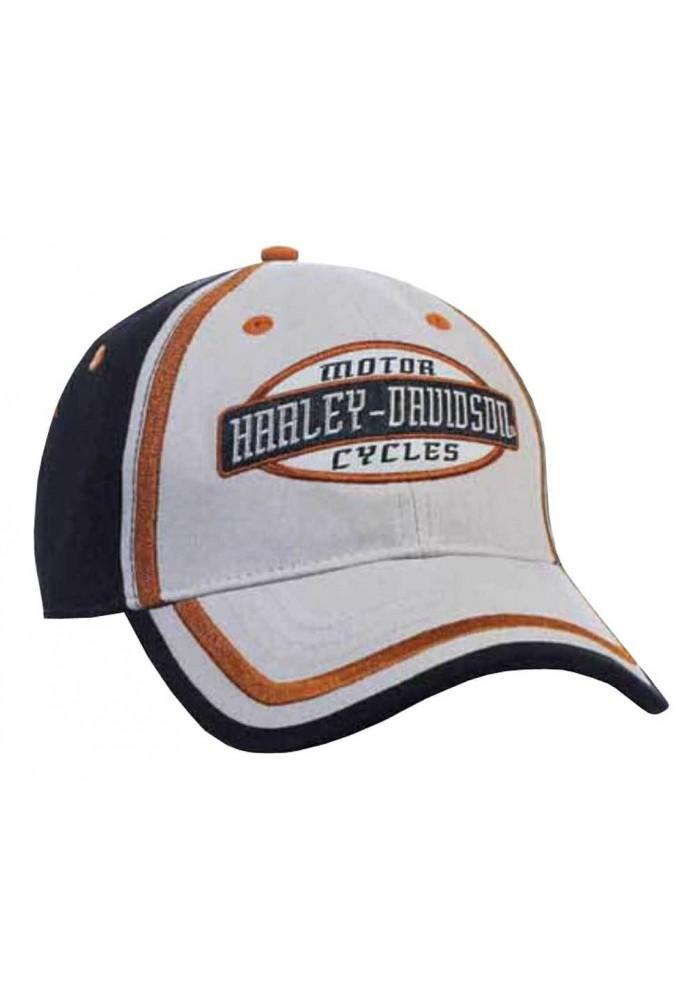Harley Davidson Homme H-D Script ed Casquette de Baseball BCC51680