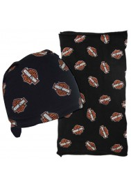 Harley Davidson Homme All Over Bar & Shield Bandana . MHW40030
