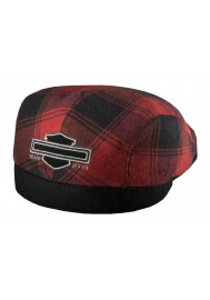 Harley Davidson Homme Bar & Shield Plaid Ivy Casquette Rouge 97638-16VM