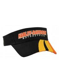 Harley Davidson Homme H-D Script Visière Noir Orange VIS51664