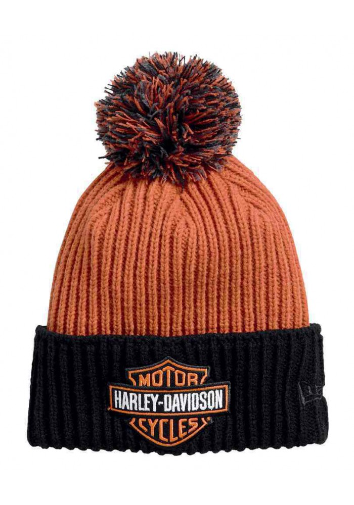 Harley Davidson Homme Bonnet bandana Pom Orange 99449-16VM