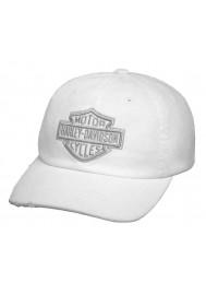 Harley Davidson Homme Phantom Casquette de Baseball White 99455-17VM