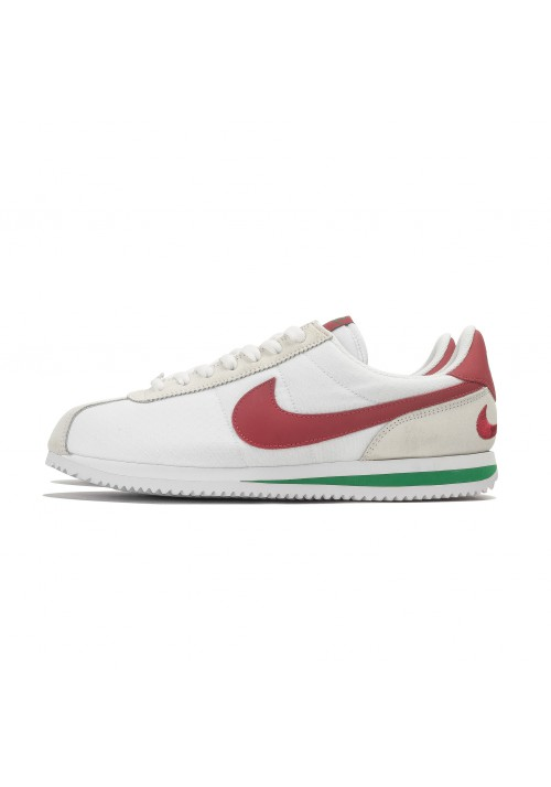 Nike Cortez Blanche en Nylon Ref: 844856-163 / Homme