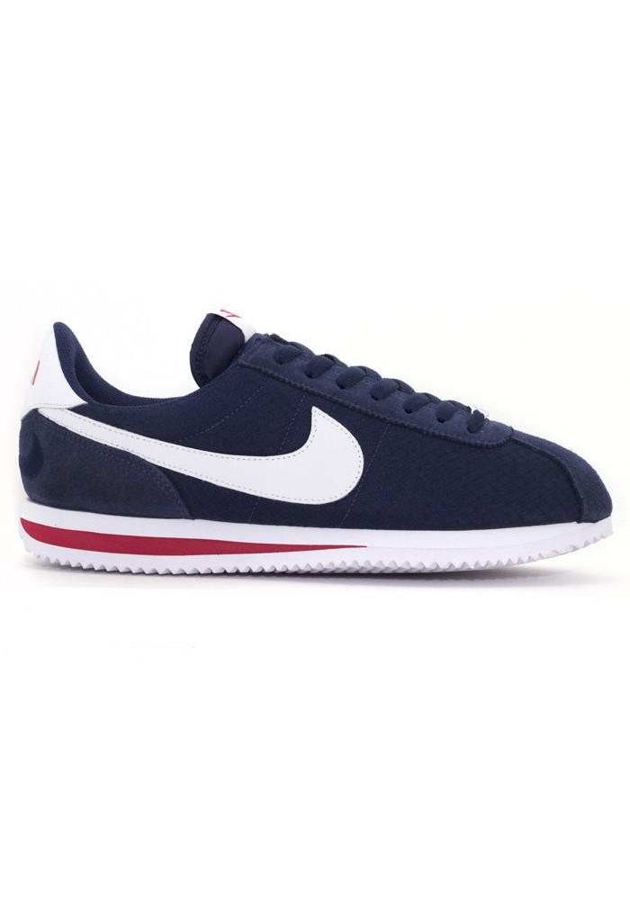 premium selection afb04 6fdfa Nike Cortez Blanche en Nylon Ref 844856-163  Homme