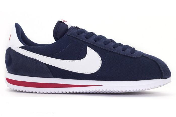 Nike Cortez Bleu Marine en Toile Ref: 844856 410 Homme