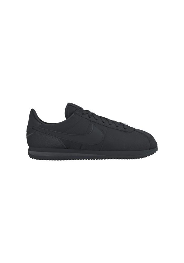 more photos d4bb5 9b679 Nike Cortez Noir en Toile Ref  844856-001   Homme