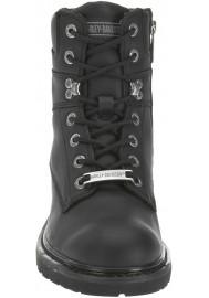 Chaussures / Bottes Harley Davidson Austwell Cuir Noir Moto Hommes – D94194