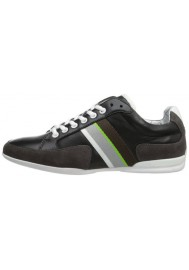 Chaussure Hugo Boss Green - Space Leather Noir - Homme
