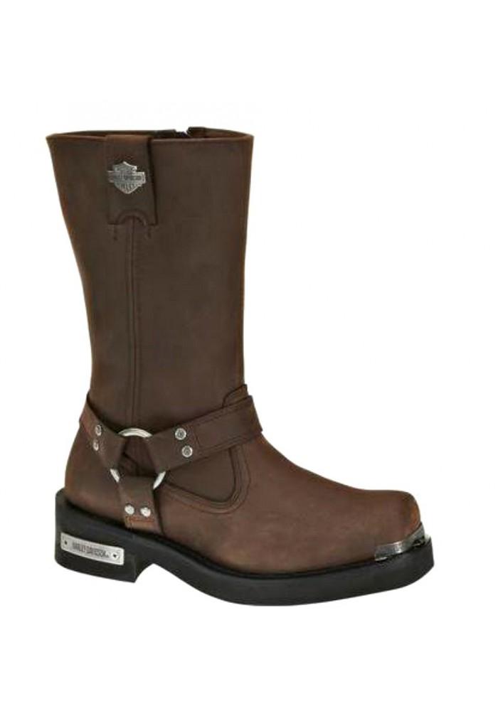 Chaussures / Bottes Harley Davidson Landon Marron Moto Hommes D96051