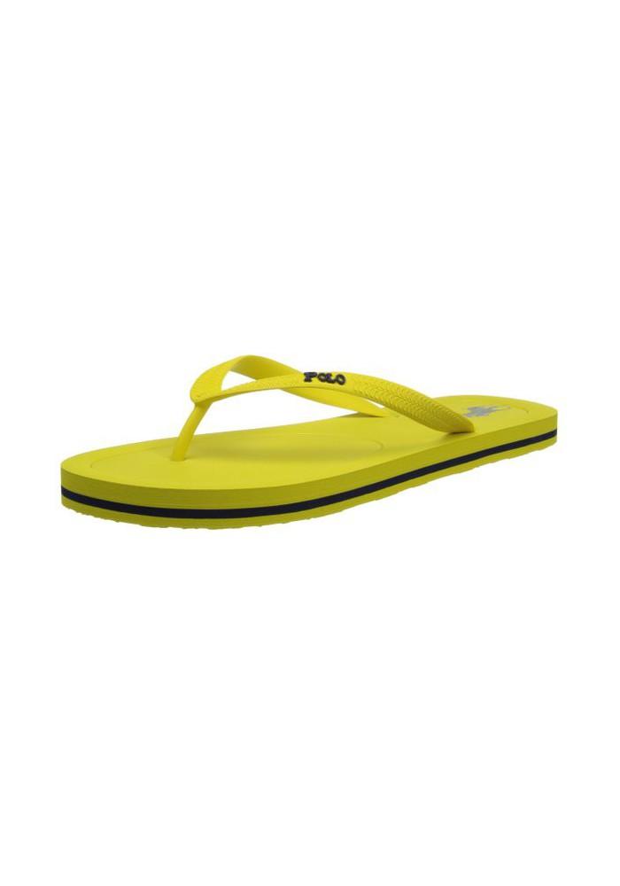 sandales tong polo ralph lauren halesowen hampton yellow newport navy homme. Black Bedroom Furniture Sets. Home Design Ideas