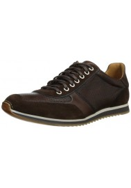 Basket Mode Magnanni en Cuir Serrano Cacao Sneakers Homme