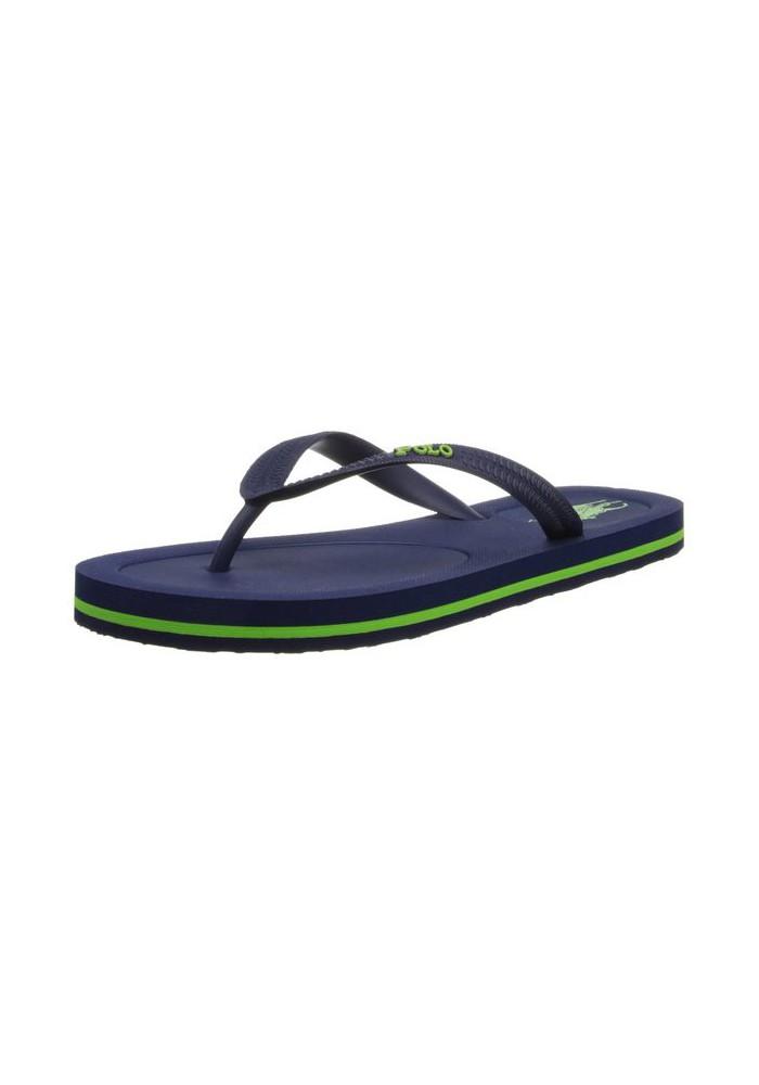 Sandales Thong Polo Ralph Lauren - Halesowen Navy/Racing Green - Homme