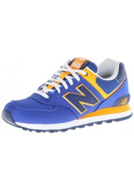 Sneakers New Balance ML574 Passport Pack (Couleur : Blue/Yellow) Homme