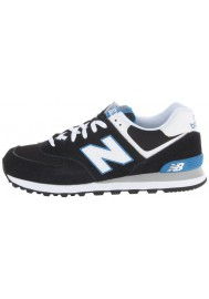 Sneakers New Balance ML574 Core Plus (Couleur : Black/Blue)