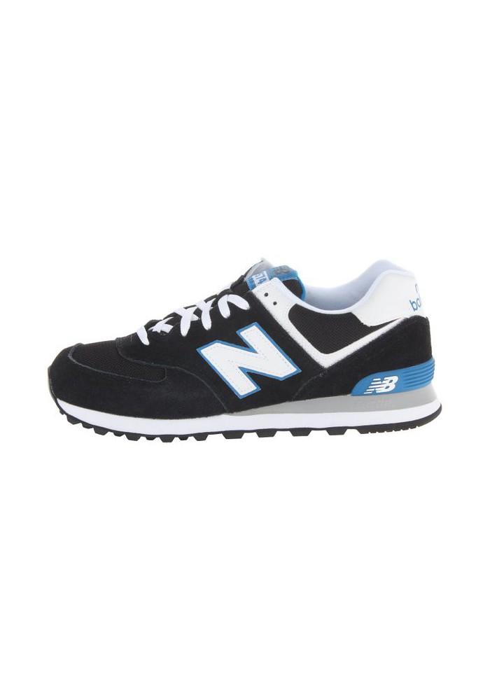 Sneakers New Balance ML574 Core Plus (Couleur : Black/Blue)