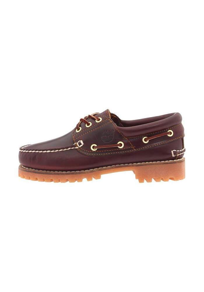 chaussure timberland hommes 3 eye classic lug chukka couleur burgundy brown bateau en cuir. Black Bedroom Furniture Sets. Home Design Ideas
